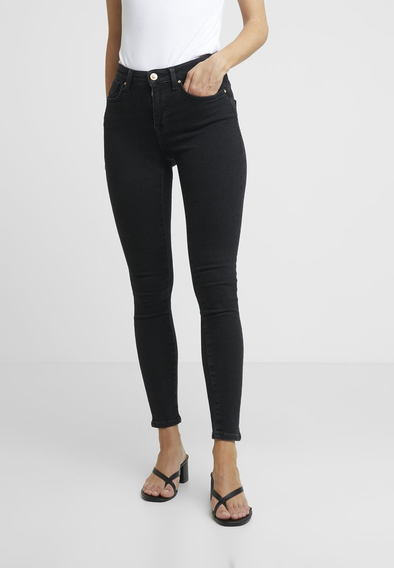 ONLY Petite - ONLPOWER PUSH UP - Jeans Skinny Fit - black