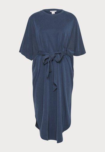 Jersey dress - navy blue