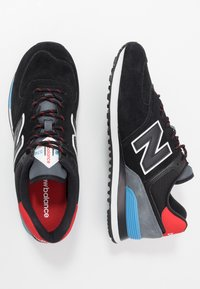 New Balance - ML574 - Sneakers - black/red - 1