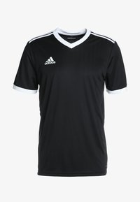 adidas Performance - TABELA 18 - T-shirt med print - black/white - 3
