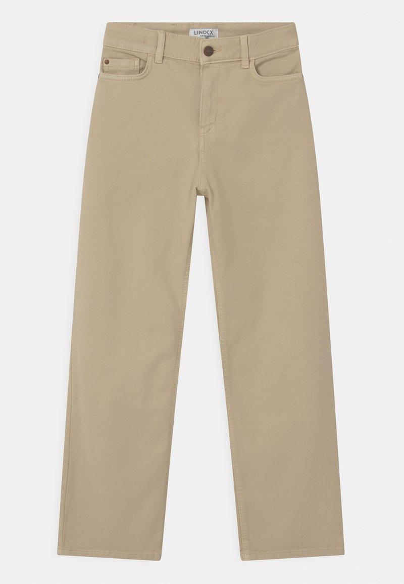 Lindex - LALEH - Jeans Straight Leg - beige