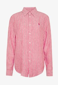 Polo Ralph Lauren - RELAXED LONG SLEEVE - Button-down blouse - red/white