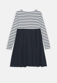 Petit Bateau - LOULA ROBE - Jersey dress - marshmallow/smoking - 1