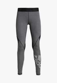 adidas Performance - ASK  - Leggings - black/heather - 5