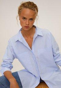 Mango - WILLY - Skjortebluser - blau - 4