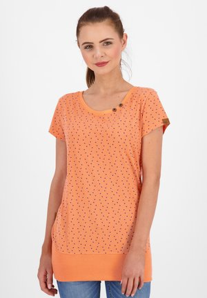 COCOAK - Print T-shirt - papaya
