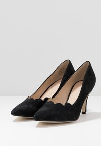 Anna Field - LEATHER - Classic heels - black - 4