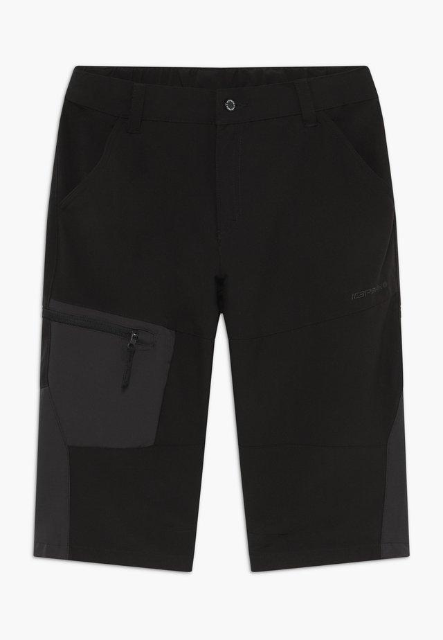 KOBE - Pantalon 3/4 de sport - black