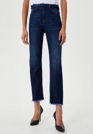 SLIM FIT HIGH-RISE - Slim fit jeans - denim