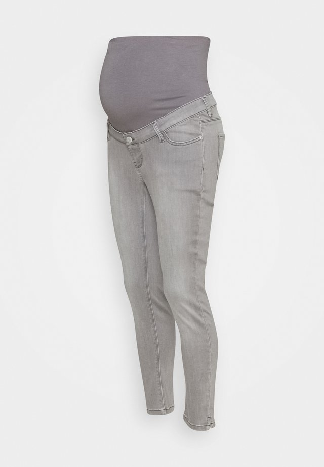 PANTS 7/8 - Slim fit jeans - grey denim