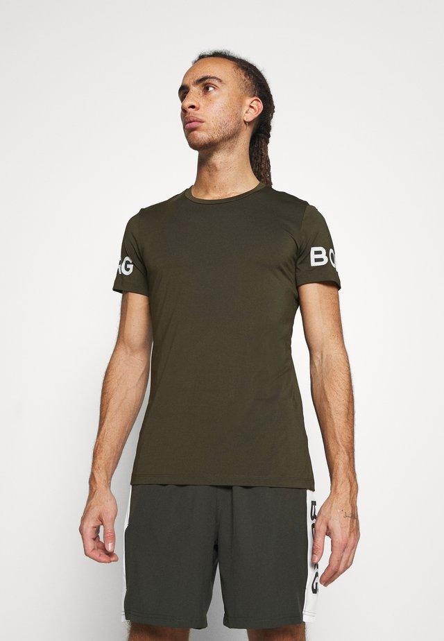 BORG TEE - T-shirt con stampa - rosin