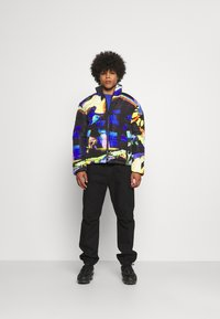 Vintage Supply - ART PRINT PUFFER JACKET - Winter jacket - blue - 1