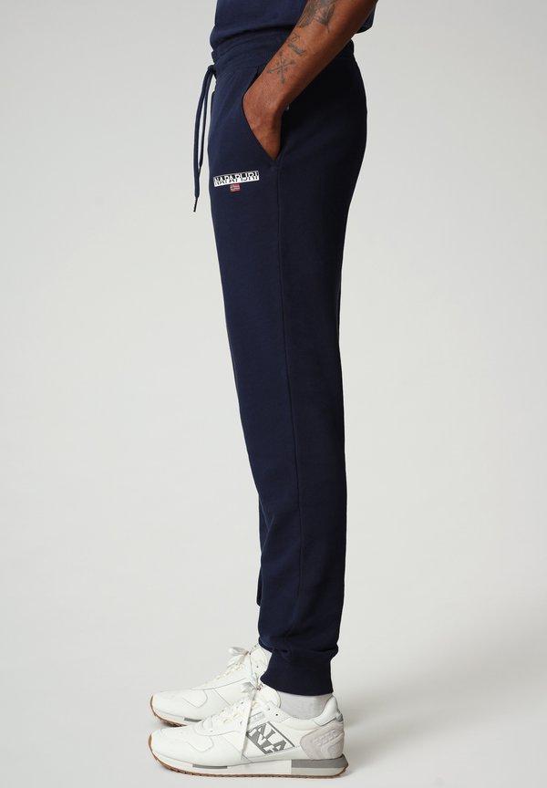 Napapijri Spodnie treningowe - medieval blue/granatowy Odzież Męska DLOW
