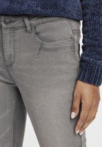 Oxmo - Irabelle - Slim fit jeans - grey denim - 3