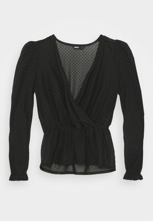ONLCAMMI TOP - Blouse - black