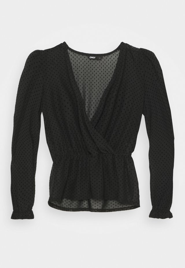 ONLCAMMI TOP - Blouse - black