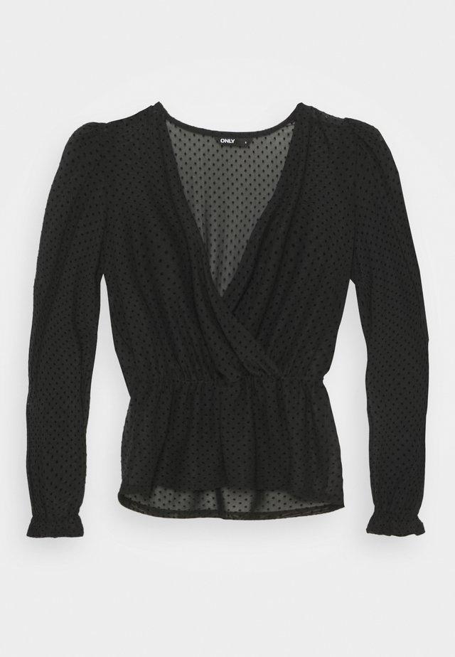 ONLCAMMI TOP - Bluzka - black