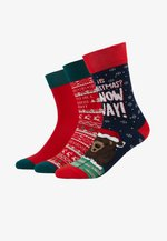 CHRISTMAS SOCKS SET BEAR 3 PACK - Strømper - multicolor