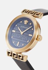 Versace Watches - GRECA MOTIV - Zegarek - black - 3