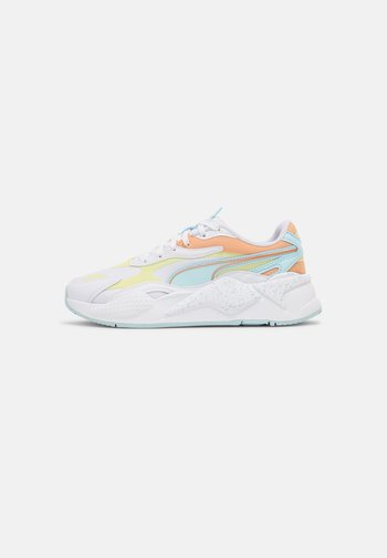 RS-X³PASTEL MIX - Trainers - white/yellow pear/peach cobbler