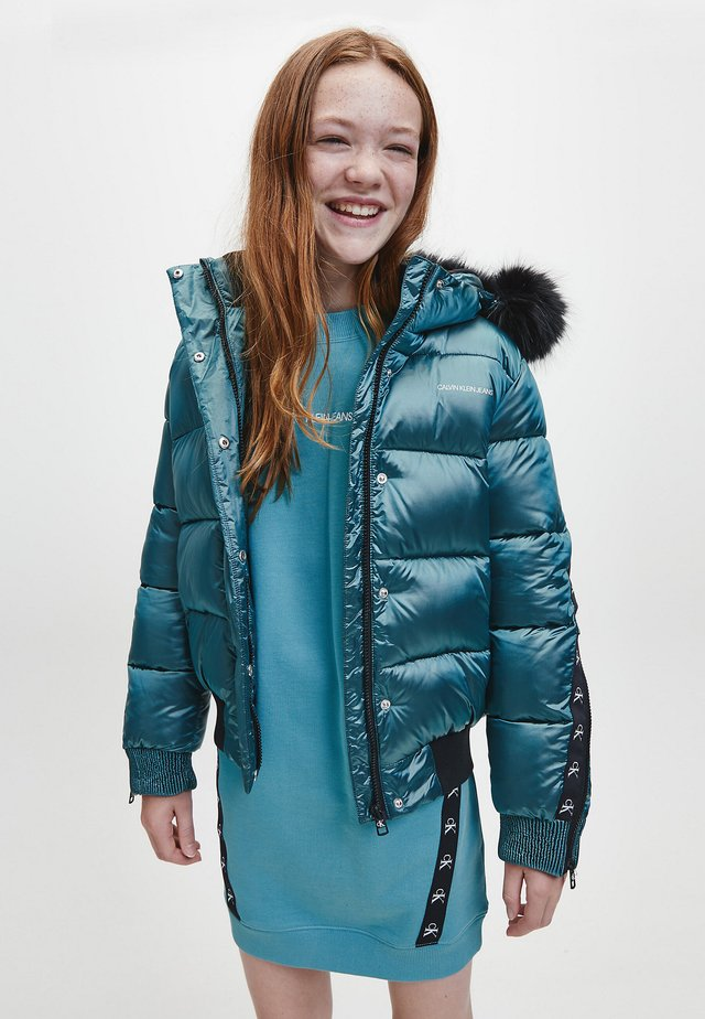 Winter jacket - gem blue