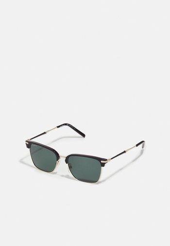 UNISEX - Sunglasses - light gold-coloured/black