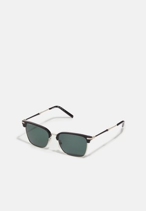UNISEX - Sunglasses - light gold-coloured/black