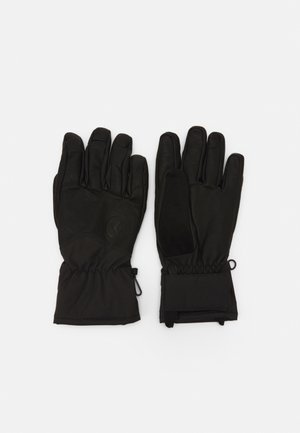 TOUR GLOVES - Fingerhandschuh - black