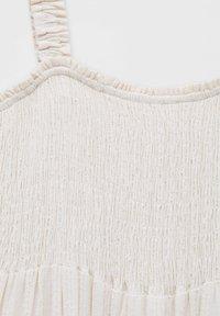 PULL&BEAR - Maxi dress - mottled beige - 5