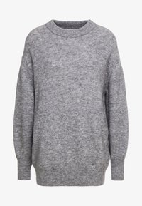 CLOSED - Pullover - grey heather melange - 5