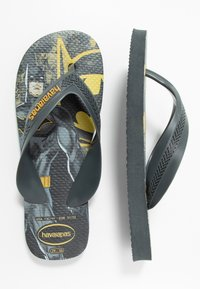 Havaianas - KIDS MAX HEROIS - Pool shoes - new graphite - 0