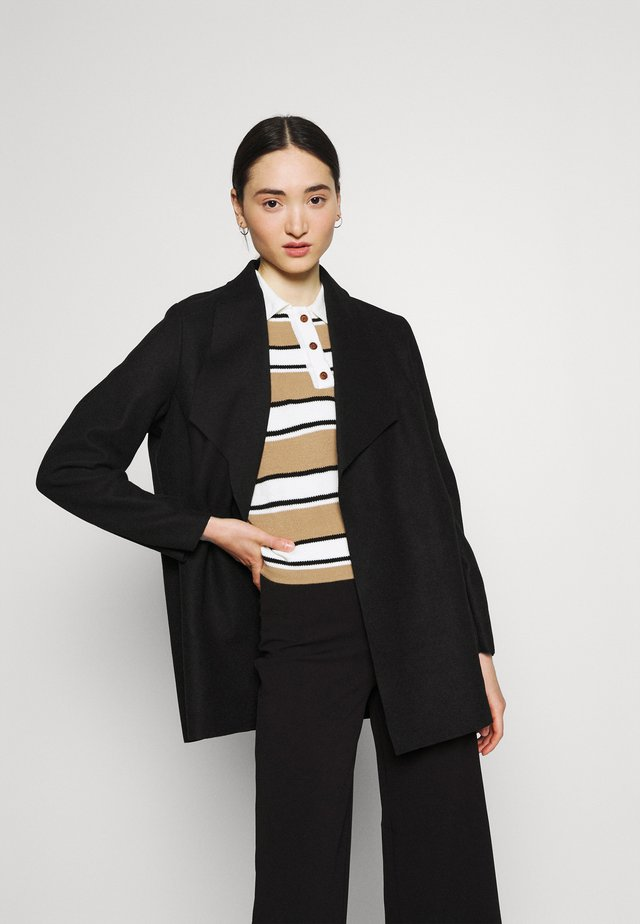 ONLETHEL NEA COATIGAN - Short coat - black