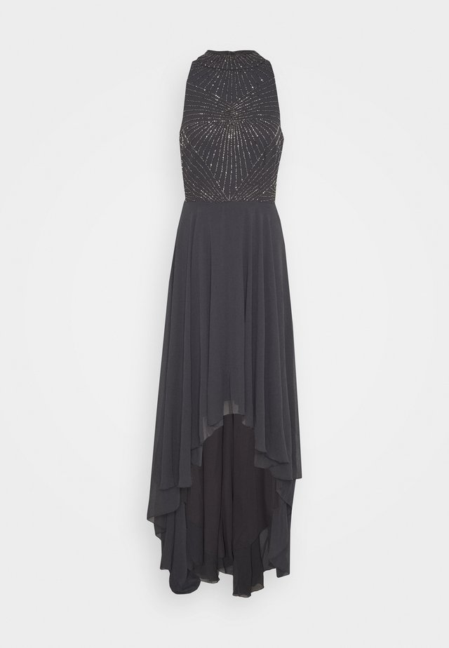 AVERY HIGH LOW DRESS - Occasion wear - charcoal