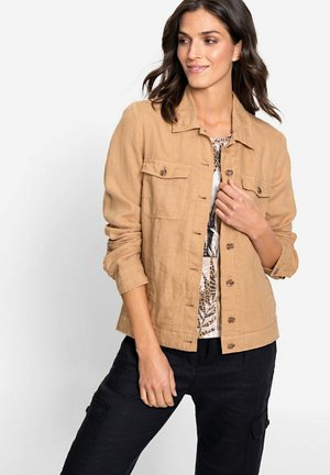 Summer jacket - hellbraun
