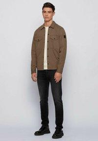 BOSS - WALKUP - Sweatshirt - light beige - 1