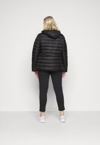 Even&Odd Curvy - Down jacket - black - 2