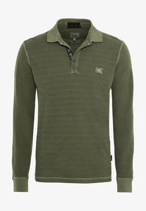 Poloshirt - olive brown