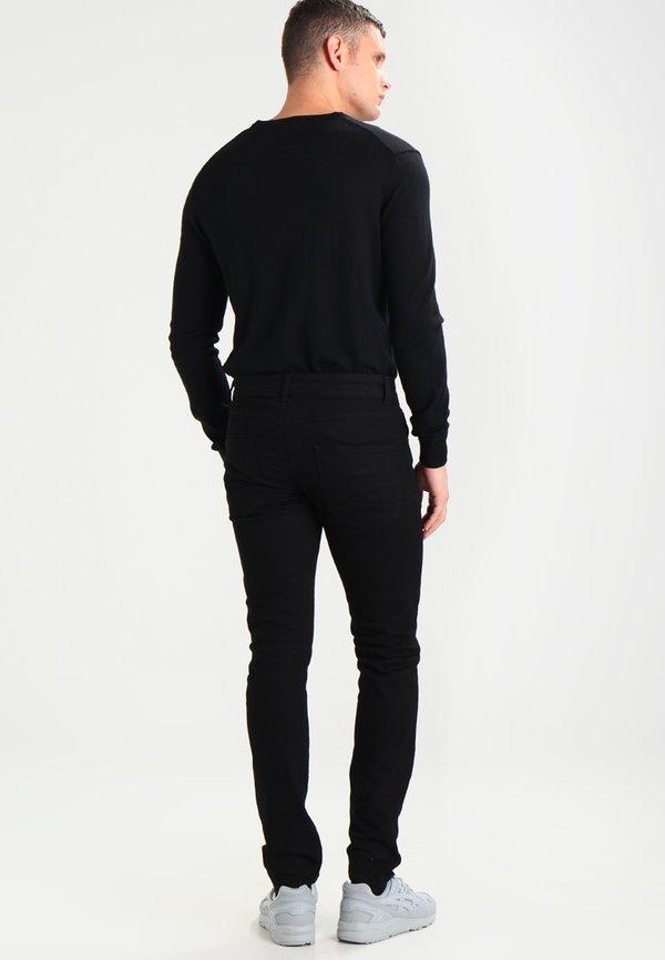 Redefined Rebel COPENHAGEN - Jeansy Slim Fit - deep black/czarny denim Odzież Męska ALQH