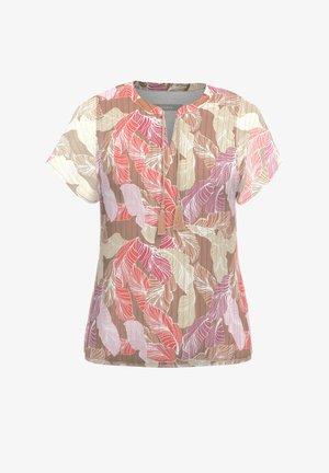 FLENI - Print T-shirt - red multi 399