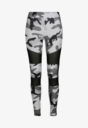 TECH - Leggings - Trousers - snowcamo