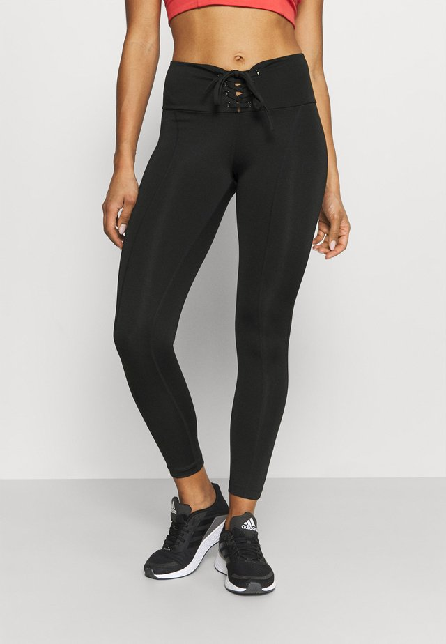 LEGGINGS - Collants - jet black