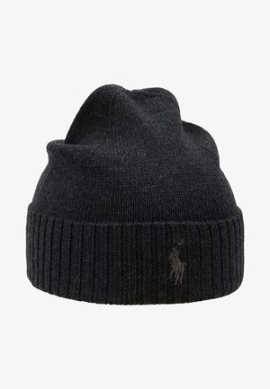 Beanie - dark granite heather