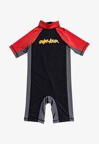 Quiksilver - SPRING  - Rash vest - black - 0