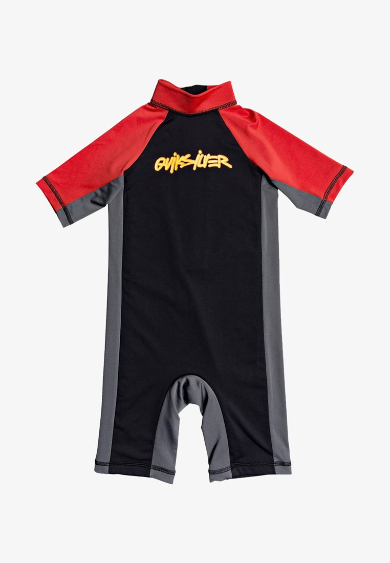Quiksilver - SPRING  - Rash vest - black