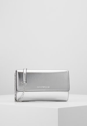 CAPSULE HOLIDAY WALLET ON CHAIN - Clutch - argento silver