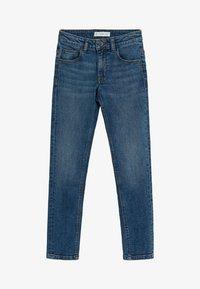 Mango - SLIM - Slim fit jeans - middenblauw - 0