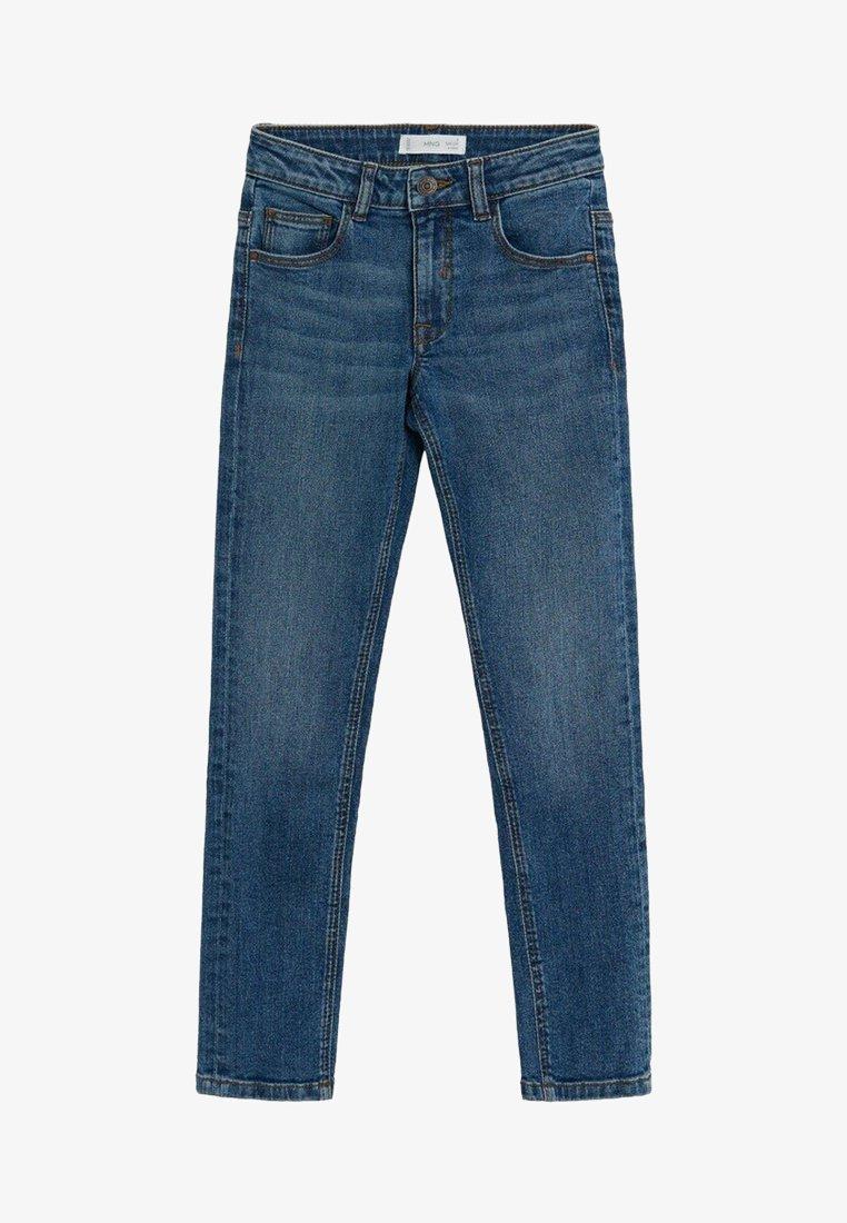Mango - SLIM - Slim fit jeans - middenblauw