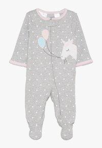 Carter's - INTERLOCK UNICORN BABY - Pyžamo - grey - 0