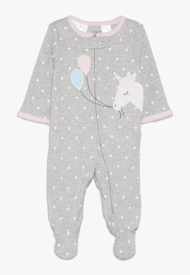 Carter's - INTERLOCK UNICORN BABY - Pyžamo - grey