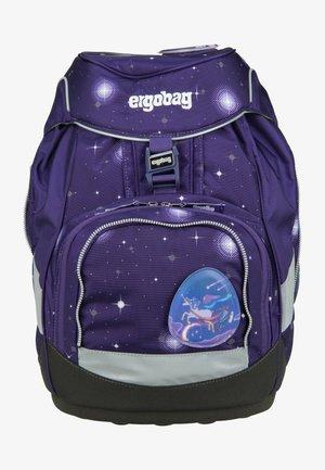 School bag - mottled purple